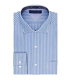 Tommy Hilfiger® Men's Blue Regular Fit Dress Shirt