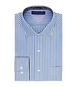 Tommy Hilfiger® Men's Blue Regular Fit Dress Shirt