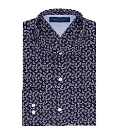 Tommy Hilfiger® Men's Navy Regular Fit Dress Shirt
