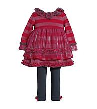 Bonnie Jean® Baby Girls' Striped Lurex Set