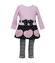Bonnie Jean® Baby Girls' Rouched Hearts Set