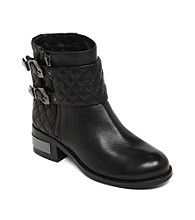 "Vince Camuto® ""Winta"" Quilted Moto Booties"
