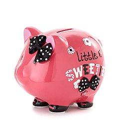Cuddle Bear® Baby Girls' Piggy Bank