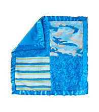 Cuddle Bear® Baby Boys' Snuggle Blanket