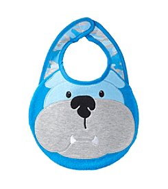 Cuddle Bear® Baby Boys' Dog Bib