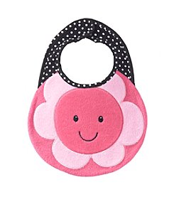 Cuddle Bear® Baby Girls' Flower Bib