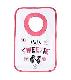 Cuddle Bear® Baby Girls' Sweetie Pullover Bib