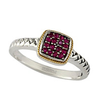 Effy® Balissima Ruby Ring in Sterling Silver/18K Gold