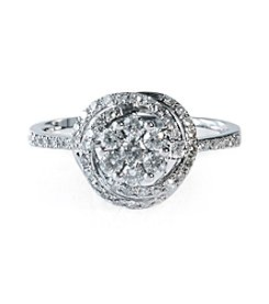 Effy® 0.52 ct. t.w. Diamond Ring in 14K White Gold