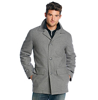 UPC 883661455668 - London Fog® Men&39s Wool Car Coat With Bib