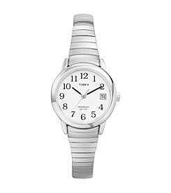 Timex® Women's Easy Reader Watch with Stainless Steel Expansion Band