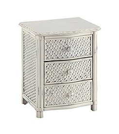 Home Styles® Marco Island White Night Stand