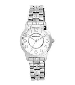 Anne Klein® Petite Silvertone Bracelet Watch