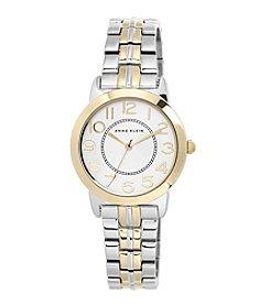 Anne Klein® Petite Two-Tone Bracelet Watch