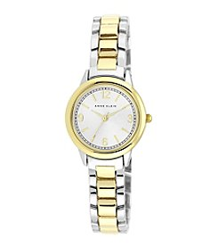 Anne Klein® Petite Two-Tone Bracelet Watch