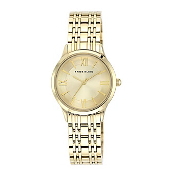 Anne Klein® Goldtone Bracelet Watch