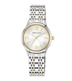Anne Klein® Two-Tone Bracelet Watch