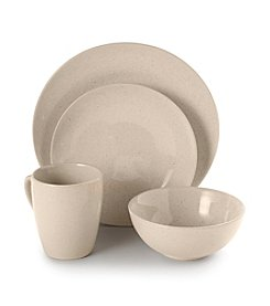 Ruff Hewn Oatmeal 4-pc. Place Setting