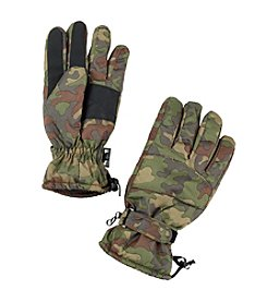 John Bartlett Statements Men's Camo Active Ski Gloves