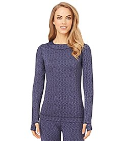 Cuddl Duds® FlexFit Long Sleeve Crew Top