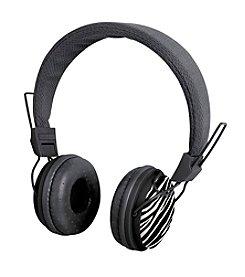 Black Series Noise Isolation Zebra Print Headphones