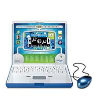 Discovery Kids® Blue Slim Toy Laptop