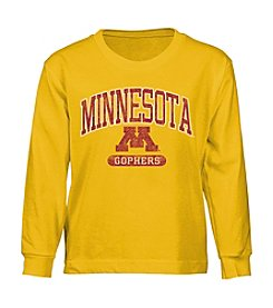 Genuine Stuff Boys' 4-7 Long Sleeve NCAA Minnesota Tee