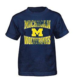 Genuine Stuff Boys' 4-7 Short Sleeve NCAA Michigan Tee