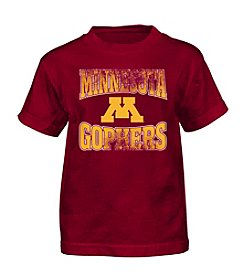 Genuine Stuff Boys' 4-7 Short Sleeve NCAA Minnesota Tee