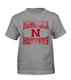 Genuine Stuff Boys' 4-7 Short Sleeve NCAA Nebraska Tee