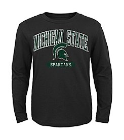 Genuine Stuff Boys' 8-20 Long Sleeve NCAA Michigan State Tee