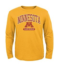 Genuine Stuff Boys' 8-20 Long Sleeve NCAA Minnesota Tee
