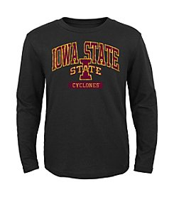 Genuine Stuff Boys' 8-20 Long Sleeve NCAA Iowa State Tee