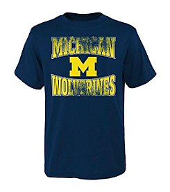 Genuine Stuff NCAA® Michigan Wolverines Boys' 8-20 Short Sleeve Tee