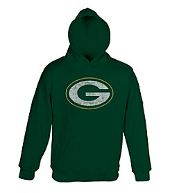 adidas NFL® Boys' 4-7 Packers Fleece Hoodie