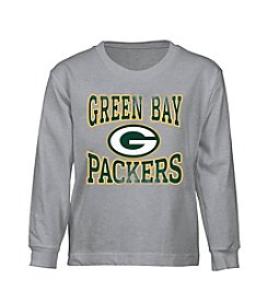 adidas NFL® Boys' 4-7 Long Sleeve Packers Tee
