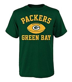 adidas NFL® Boys' 8-20 Short Sleeve Packers Tee