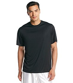 Exertek® Men's Midnight Black Active Short Sleeve Performance Tee