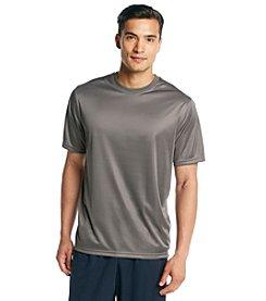 Exertek® Men's Eiffel Tower Grey Active Short Sleeve Performance Tee