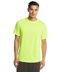 Exertek® Men's Safety Yellow Active Short Sleeve Performance Tee