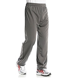 Exertek® Men's Eiffel Tower Grey Active Tricot Side Stripe Pant