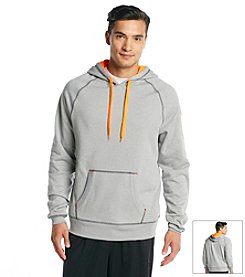 Exertek® Men's Grey Active Pullover Fleece Hoodie