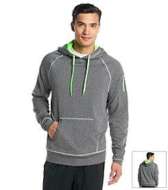Exertek® Men's Charcoal Heather Grey Active Pullover Fleece Hoodie