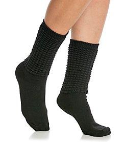 HUE® Poodle Slouch Socks