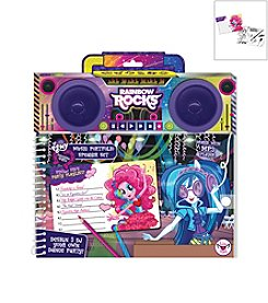 Fashion Angels™ Rainbow Rocks Music Portfolio and Speaker Set