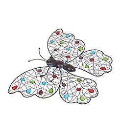 La Hacienda® Beaded Butterfly Wall Art