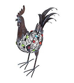 La Hacienda® Beaded Crowing Rooster