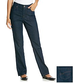 Relativity® Absolutely Straight Leg Denim Jeans