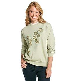 Morning Sun® Radiant Leaves Sweatshirt