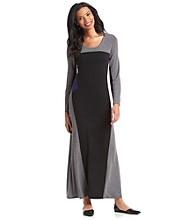Notations® Color Block Maxi Dress